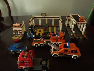 Lego City Garage 4207 Glued 3100 Picclick