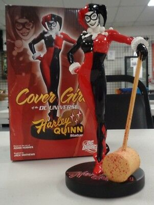 Cover Girls Of The DC Universe Harley Quinn Adam Hughes Statue #4483/8000 New!
