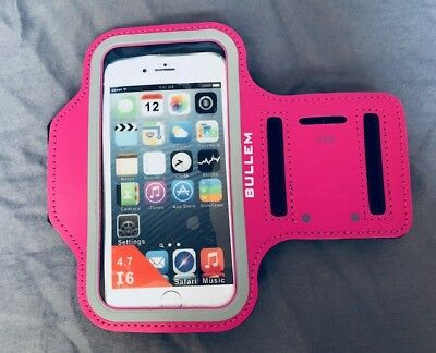 (50) iPhone 6 6s 7 8 Workout Gym Running Jogging Armband PINK