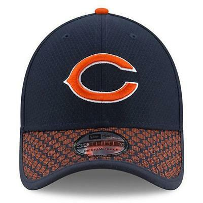 ada7ecf0d2a ... italy new era mens chicago bears sideline official 39thirty stretch fit  hat cap nwt 75a2a d7666