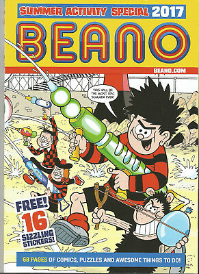 Beano Summer Special 2017 # Softback # 68 Pages # 16 Stickers #
