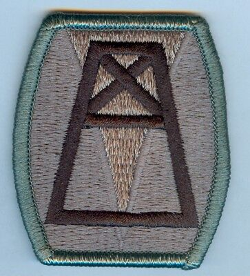 156th QUARTERMASTER COMMAND SHOULDER PATCH - ACU VARIATION