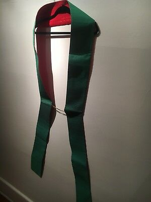 Deacon Stole, Red and Green, Slabbinck, Great Condition
