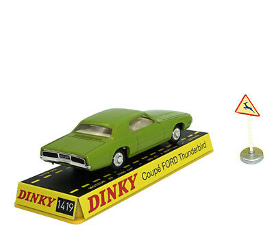 1:43 Diecast Dinky Toys Atlas 1419 COUPE FORD THUNDERBIRD CAR MODEL COLLECTION
