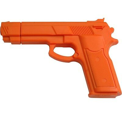 "Master Cutlery 3200OR Orange Rubber 7 Training Handgun"" New"