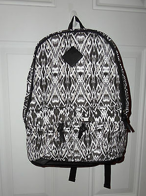 Girl's Backpack Black and White Print Bag Claire's New