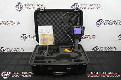 GE Inspection Everest VIT XL VU Videoscope 6mm/8m Flaw Detector NDT GEIT Iplex