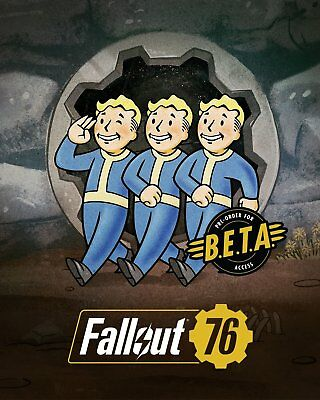 Fallout 76 Early Access BETA Key / PS4 / Xbox One /PC-  FAST DELIVERY! Same Day