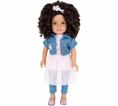 Chad Valley Designafriend Layla Doll Eyes To The World And Inspires 18inch/45cm
