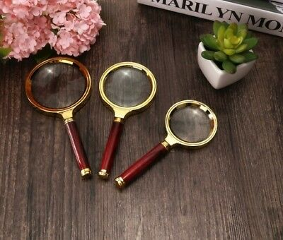 60/70/80MM Handheld Jewelry Magnifier Magnifying Glass Jewelry Loupes Tools