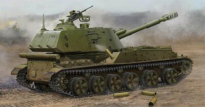 Trumpeter 05567 Soviet 2S3 152mm Self-Propeller Howitzer - Late  1:35