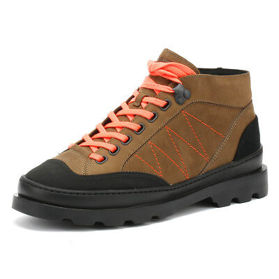 Camper Brutus Womens Medium Brown Boots Leather Winter Walking Ankle Shoes