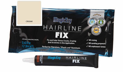 MagicEzy Hairline Fix (Cream) : Gelcoat Repair for Fiberglass CRACKS & SCRATCHES