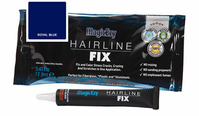 MagicEzy Hairline Fix (Royal Blue) : Fast Gelcoat Repair for  CRACKS & SCRATCHES