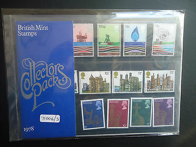 Great Britain Commemoritives Collectors Pack 1978 MNH CAT £10 (71006/3)