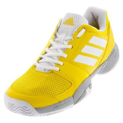 Adidas Junior Barricade Club XJ Breathable Lightweight Cushioned Tennis Shoes