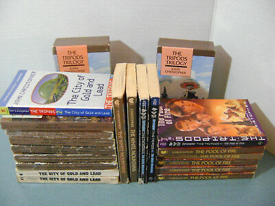 19 Books John Christopher Tripods White Mountains City of Gold Lead Pool of Fire