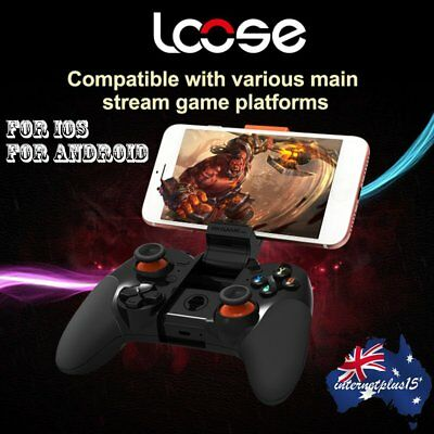 Bluetooth Game Pad Gaming Controller Wireless GamePad for iPhone/iPad Android FL