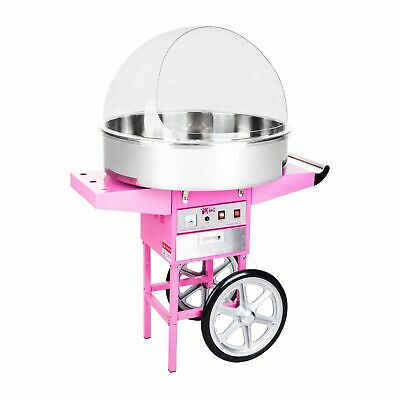 Xl Candy Floss Machine Cotton Candy Maker Wagon Cart And Cover 1200W Commercial
