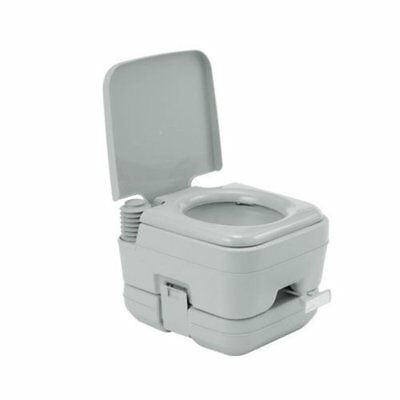 Mobile Camping Toilet Portable Travel Chemical WC Outdoor 10L Flushing Potty Loo