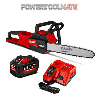 Milwaukee M18FCHS-121B 18V  FUEL Chainsaw with 12Ah battery & charger