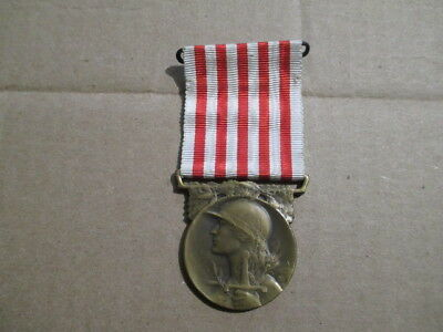 French Great War 1914–1918 period Grande Guerre Commemorative war medal