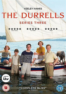 DURRELLS COMPLETE SERIES 3 DVD Third Season Keeley Hawes Josh O'Connor UK New
