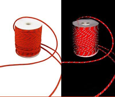 Multifunctional Reflective String Ropes 4mm Windproof For Outdoor Travel Camping