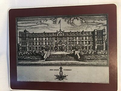 Staff College Camberley 1947 Mounted Reproduction by Isabel Saul