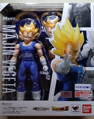 Authentic SH Figuarts Majin Vegeta BANDAI S.H. Dragon Ball Action Figure NewBNIB
