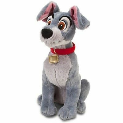"""Disney Lady & Tramp Exclusive Deluxe Plush Soft Toy Tramp 14"""""""