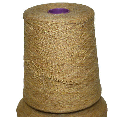 Shetland Weaving Yarn - Colour Lemon Frost - various cone weights