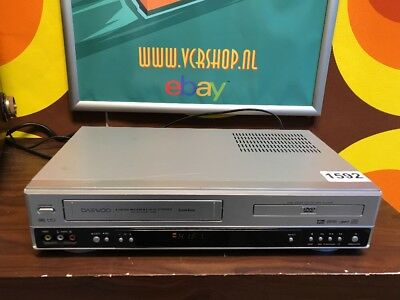 Daewoo SH-9540 - VHS Recorder & DVD Player Combi 6 Head