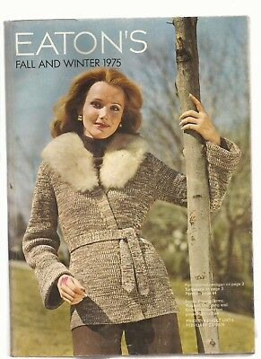 Eaton's Fall & Winter 1975 Catalog in EX condition 896 pages