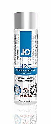 JO H2O PERSONAL WARMING LUBRICANT 4.0 oz Water Based Lube
