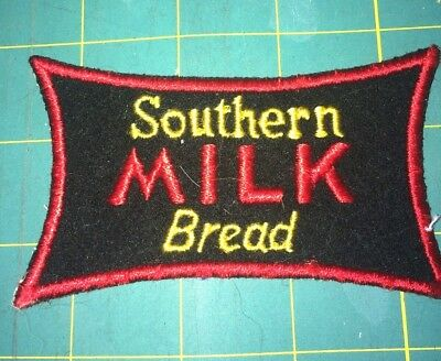 """Vintage Southern """"milk"""" Bread Bakery Advertising Patch."""