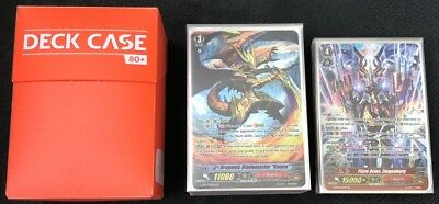"Cardfight!! Vanguard Dragonic Blademaster ""Kouen"" Deck 25SPs 1GR"