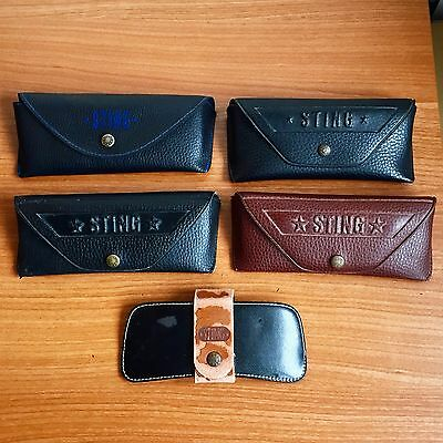fodero occhiali da sole vista STING box case sunglasses astuccio custodia caja