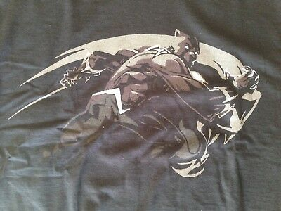 T-shirt BLACK PANTHER officiel (neuf - M)