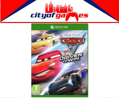 Cars 3 Driven to Win Xbox One New & Sealed In Stock