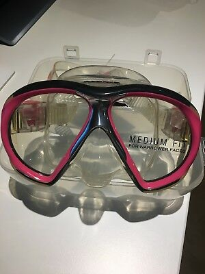 Atomic Aquatics Subframe transparent/pink medium fit ***NEU***