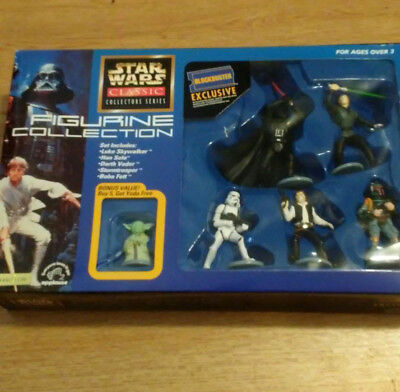 Star Wars Classic Figurine Collection Blockbuster Exclusive