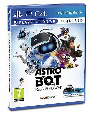Astro Bot Playstation VR Game (PS4) IN STOCK NOW New & Sealed UK PAL
