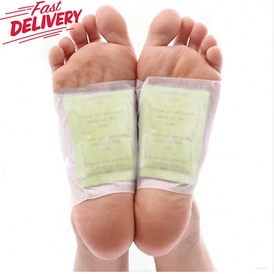200 Pcs/lot GOLD Premium Kinoki Detox Foot Pads Organic Herbal Patches Cleansing
