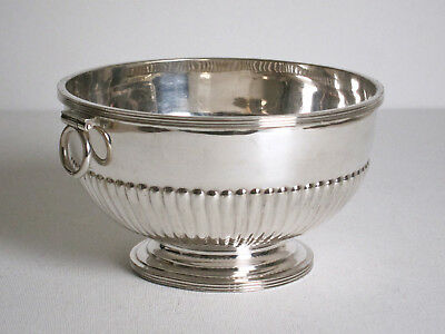"Fine Antique Silver Plate 6"" Tea Waster Bowl W&G Sissons, England late 1800's"