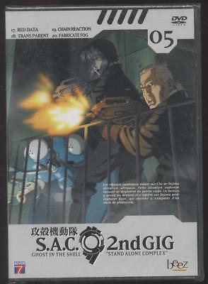 Neuf Dvd Ghost In The Shell Stand Alone Complex S.a.c 2Nd Gig Volume 5 Manga