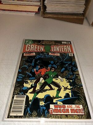 Green Lantern #141 1st OMEGA MEN Appearance! Newsstand Variant, VF, DC