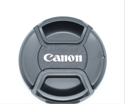 55mm pinch lens cap for Canon Camera DSLR lens cap- UK Stock - Fast Delivery