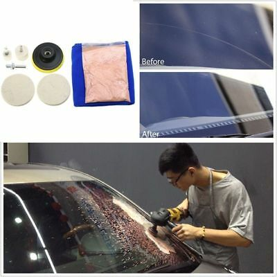 Universal Car Windscreen Window Scratch Repair Remover Glass Polishing Kit Grind