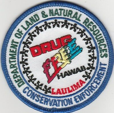 Hawaii DNR Conservation Law Enforcement Conservation Officer Enforcement Patch